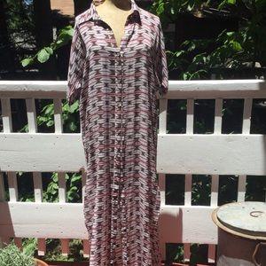 acacia swimwear Native Silk Coverup/ Dress